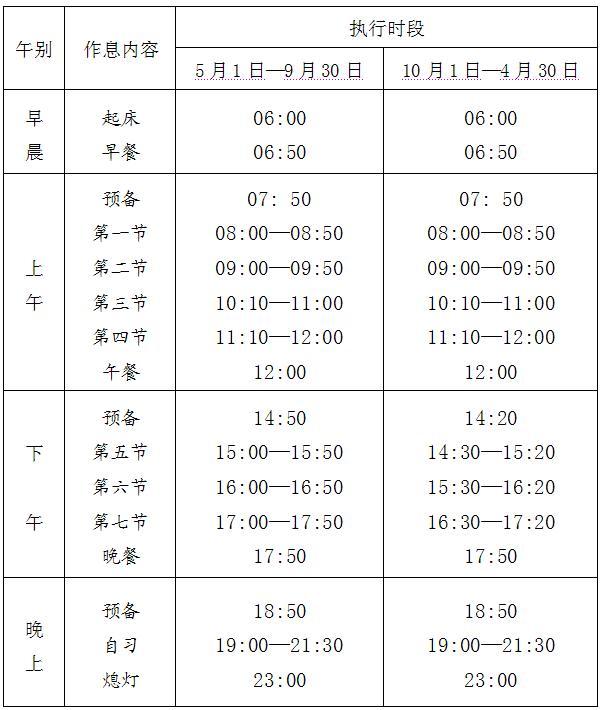 国庆节放假后作息时间.JPG